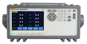 8 Channels Thermocouple Pt100 Temperature Tester Meter Data Recorder 4 3 Rs232