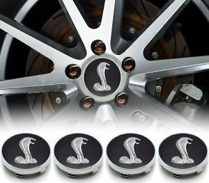 Brand New Ford Mustang Cobra R Snake 2 25 Wheel Rims Center Caps For Wheel Rim