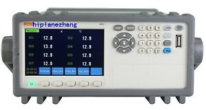 32 channel Thermocouple Pt100 Temperature Tester Meter Data Recorder 4 3 Rs232