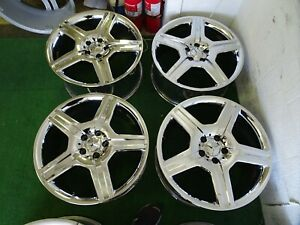 2007 To 2011 Mercedes S Class S550 S600 Amg Oem Factory 19 Chrome Wheels Rims