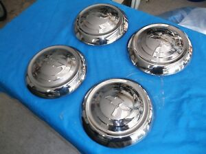 1951 53 Chevy Dog Dish Hubcaps