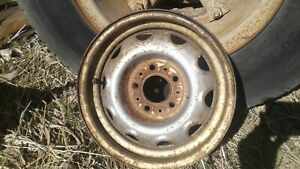 Dodge Mopar Plymouth Steel Rally Wheel 5x4 5 Bolt Pattern 14x5 5
