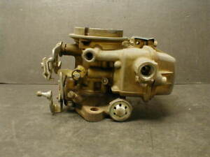 Vintage Holley C2te Ford 6 Cylinder 1 Bbl Carburetor Manual Choke