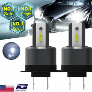 H7 26000lm 110w Led Headlight Kit Cree Cob Lamps Special For Ford Focus 2x Light