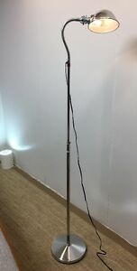 Vintage Medical Mid Century Modern Retro Industrial Machine Age Floor Lamp