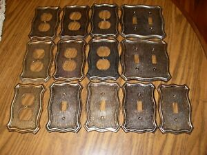 American Tack Howe Co Vintage Electrical Wall Plates