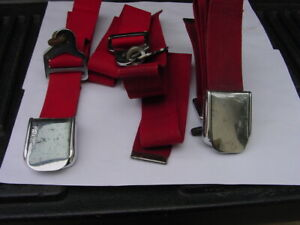1956 1957 1958 1959 1960 1961 1962 Ford Thunderbird Seat Belts