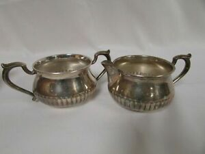 S Kirk Son Sterling Silver Cream And Sugar 72