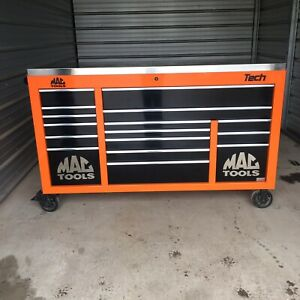 Mac Mb1084 Toolbox Triple Bay With Power Drawer Tool Box Stainless Top Cart