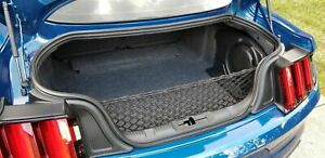 Rear Trunk Envelope Style Organizer Cargo Net For Ford Mustang 2015 2021 New