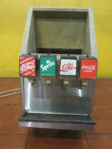 Old Coke Fountain Machine 4 Flavor Nice Size For Food Truck Send Best Offer