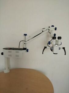 Ent Surgical Microscope portable Table Mount 3 Step Magnifications A