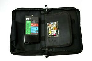 Ideal 33 816 Video Tracker Coax Tester With 8 Terminators And Carry Case