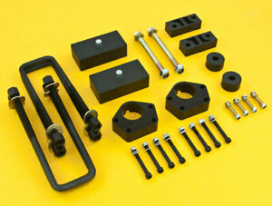 Black Lift Kit Front 2 5 Rear 2 For T100 Pick Up 86 95 4wd W Overload Spring