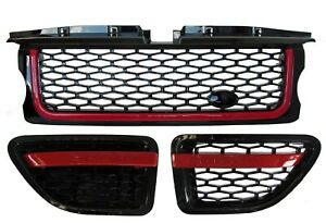06 09 Range Rover Sport Grille Air Vents Black Autobiography Red Model Ab3a