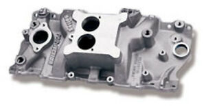 Intake Manifold Holley Efi Tbi Flange Single Plane Aluminum