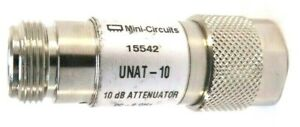 Mini circuits Unat 10 Dc 6ghz 10 Db Attenuator