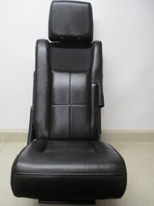 07 17 Expedition Navigator Right 3rd Row Rear Bench 60 40 Back Seat Folding Oem