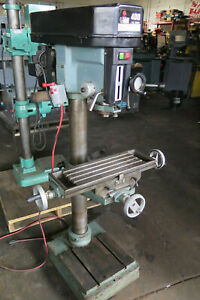Rong Fu Rf 400hc Floor Type Step Pulley Milling Drilling Machine