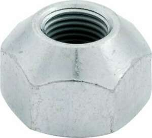 Allstar Performance Lug Nut 5 8 18 1 In Hex Head 45 D Seat Open Zinc Oxide X10