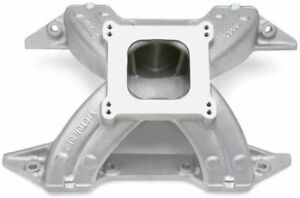 Intake Manifold Victor 383 Square Bore Single Plane Aluminum