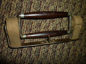 Antique Victorian 1800 S Book Carrier Rosewood