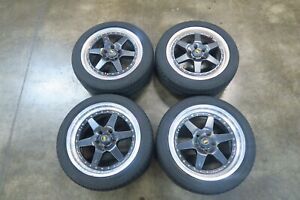 Jdm Xr4 Xr4z Longchamp Front 17x8 Rear 17x9 5x114 3 Ssr Wheels Rims Offset 38