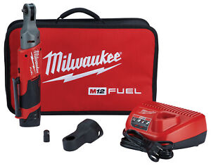 Milwaukee M12 Fuel 1 4 Dr 40 Ft lb Cordless Ratchet Wrench Kit Boot 2556 21