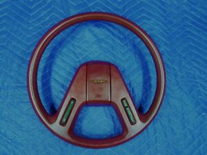 Ford Thunderbird Red Steering Wheel 2 spoke Oem Factory 84 85 86 T bird Coupe