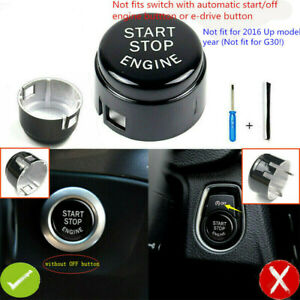 Start Stop Engine Switch Button Replace Cover For Bmw F20 F30 F10 F01 F48 F16
