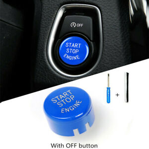 Car Engine Start Stop Button Switch Replace Cover Trim For Bmw F20 F22 F30 F10