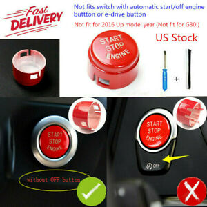 Start Stop Engine Button Switch Cover Trim For Bmw F20 F30 F10 F01 F48 F15 F16