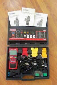 Craftsman Automotive Diagnostic Scanner Tool Kit Obd2 Obd1 920899 Case Obdii