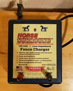 Parmak Horse Surround Low Impedance Electric Fence Charger 110 120 Volt hs 100