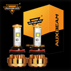 Auxbeam H11 Led Headlights Bulb Fog Light For Chevrolet Silverado 1500 2008 2015