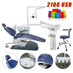 Computer Controlled Dental Chair Fda Hard Leather Doctor Stool Sapphire Blue Usa
