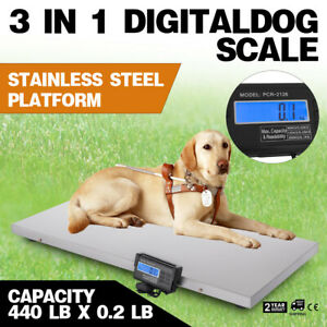 3in1 Digital Livestock Pet Dog Scale Large Scale Scale Goat Scale Load Cells