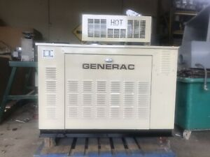 20 Kw Generator Natural Gas Propane Only 106 Hrs 120 208 240 Weather Enclosure