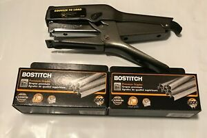 Bostitch B8 Heavy Duty Plier Stapler W 2 Boxes Of 3 8 Staples 2 45 Sheets