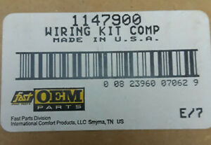 Fast Parts Oem 1147900 Hvac Wiring Kit Replacement Wiring Flag Terminals new