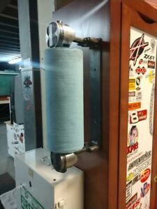 Piston Rod Roll Paper Towel Garage Shop Home Dispenser