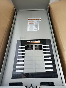 Generac 100 amp Outdoor Automatic Transfer Switch16 circuit Load Center Open Box
