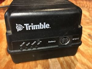Trimble Single Battery Charger For 572 906 330 Nimh nicd