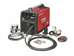 Lincoln Power Mig 180c Mig Welder Package K2473 2 208 230v