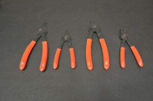 Matco Tools Snap Ring Plier Set Of 4 Mst34a Mst340 Mst12 Mst12a