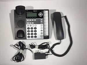 At t 4 line Small Business System Phone 1040 1070 1080 Compatible Black