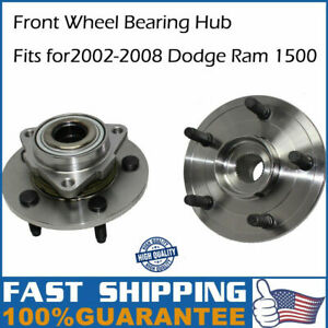 2002 2003 2004 2005 2008 For Dodge Ram 1500 Front Wheel Bearing