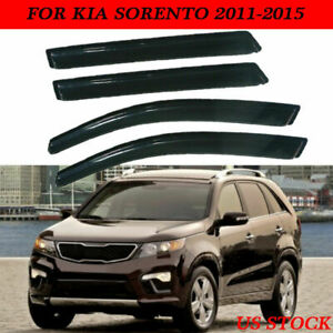 Window Visors Rain Sun Wind Shade Vent For Kia Sorento 11 12 2013 2014 2015 Us