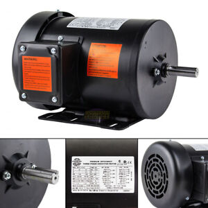 1 Hp Electric Motor 3 Phase Premium Efficiency 56h Frame 1800 Rpm Tefc 230 460 V