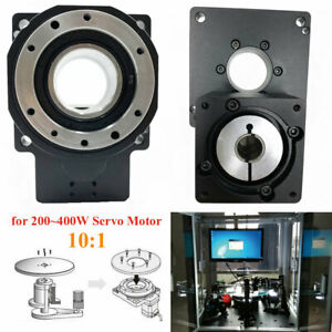 Electric Hollow Rotary Platform Actuator 10 1 Planetary Gearbox For 200 400w